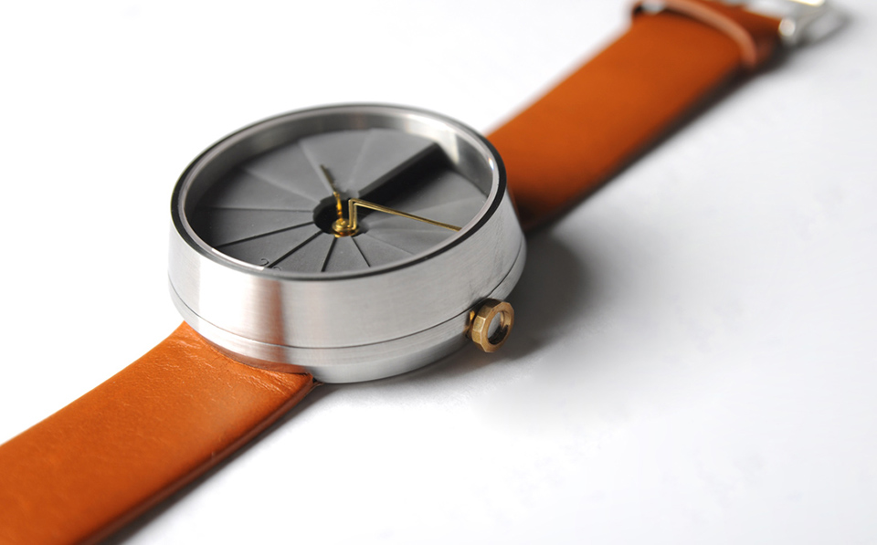 22 Design Studio 4th Dimension Concrete Wrist Watch 4