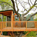 AirBNB Tree Houses - Chicago Vacation Rental Treehouse 1