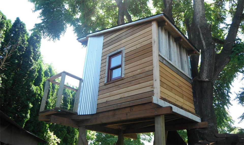 AirBNB Tree Houses – Portland Vacation Rental Treehouse 1