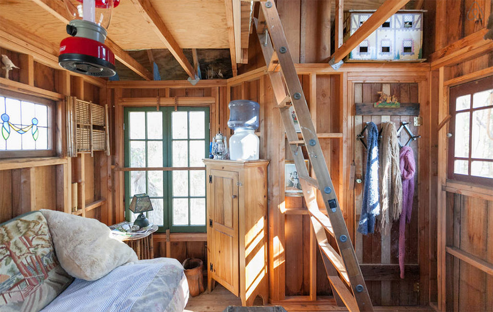 AirBNB TreeHouses – Sonoma Vacation Rental Treehouse 2