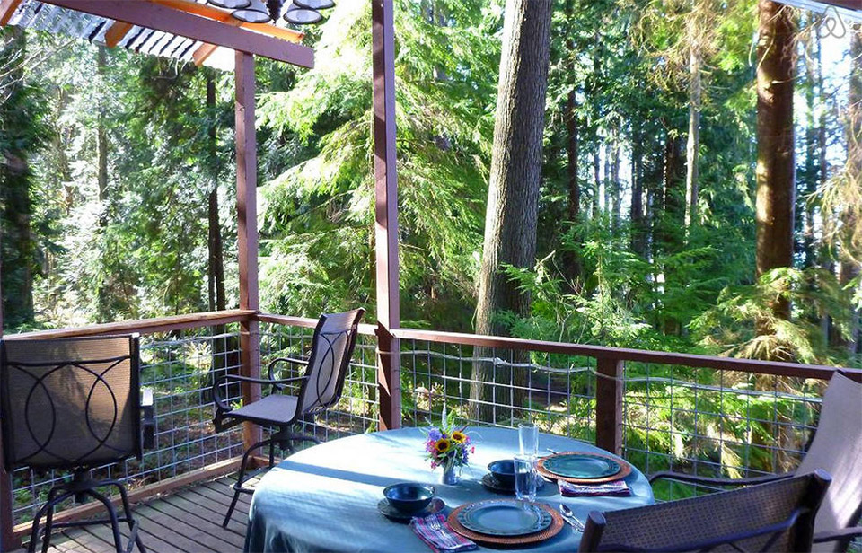 AirBNB TreeHouses – Washington Treehouse for Rent 2