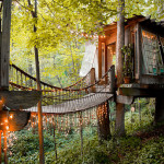 AirBNB Treehouses - Atlanta Treehouse Vacation Rental 1