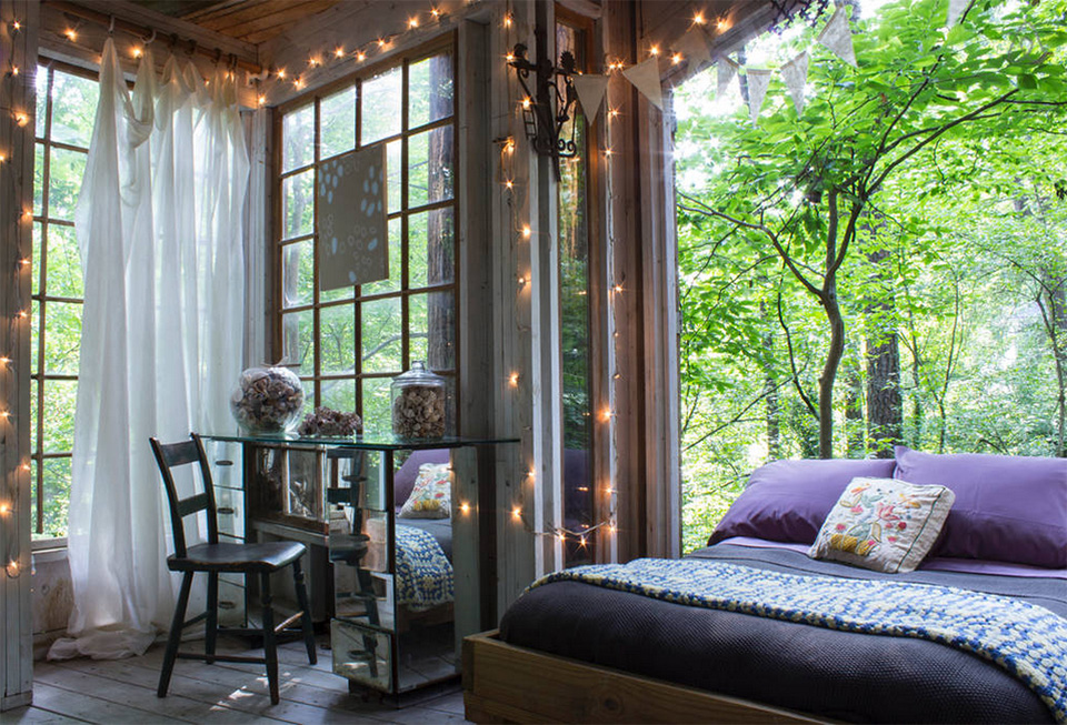 AirBNB Treehouses Atlanta Treehouse Vacation Rental 2 These 10 Awesome Airbnb Treehouses Are Yours to Rent This Summer