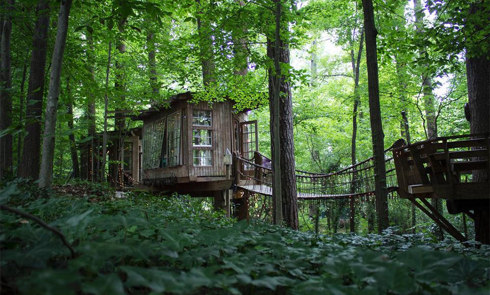 AirBNB Treehouses – Atlanta Treehouse Vacation Rental 3