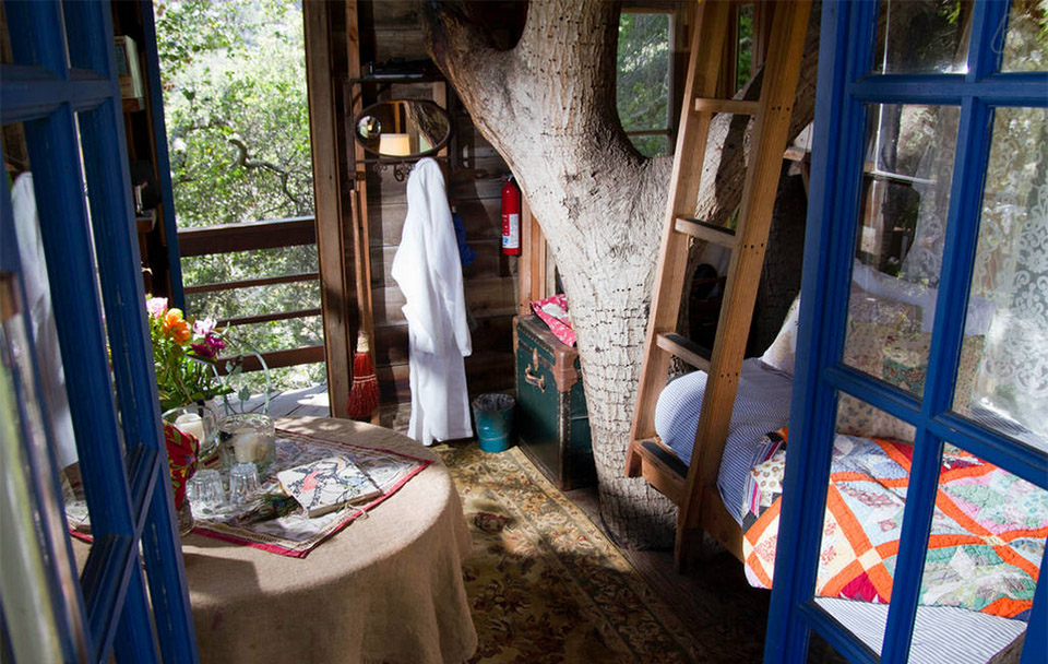 AirBNB Treehouses – San Francisco Treehouse Vacation Rental 2