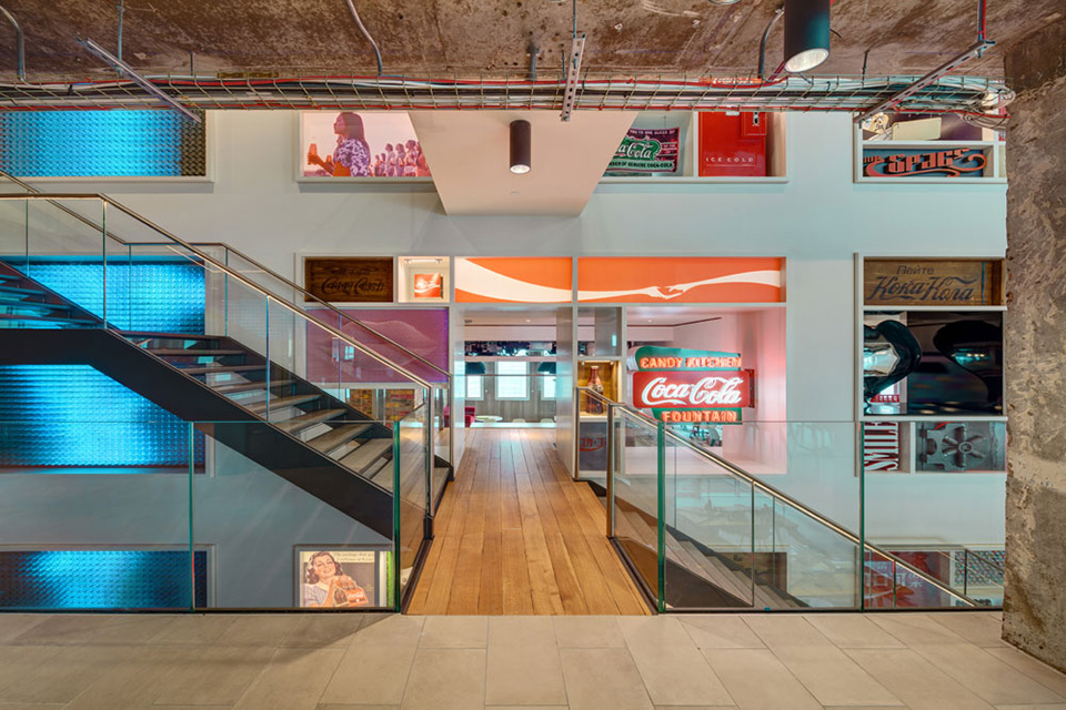 Coca Cola London Office Design by MoreySmith 2