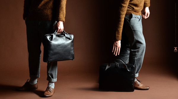 Hard Graft Atelier Assembly Briefcase 1 600x334 Look the Part, Close the Deal: The New Hard Graft Briefcase is One Bag to Rule Them All