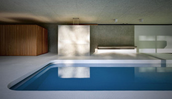 Hidden Swimming Pool Pavilion by Act Romegialli - La Piscina del Roccolo 1