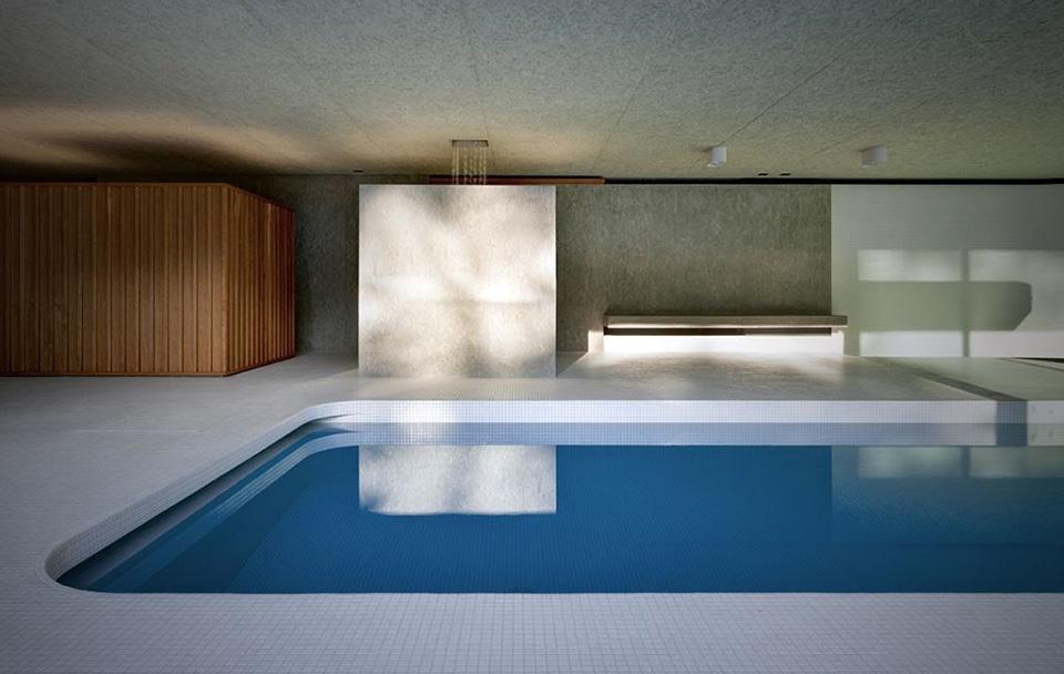Hidden Swimming Pool Pavilion by Act Romegialli – La Piscina del Roccolo 1