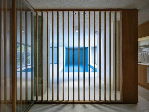 Hidden Swimming Pool Pavilion by Act Romegialli - La Piscina del Roccolo 10
