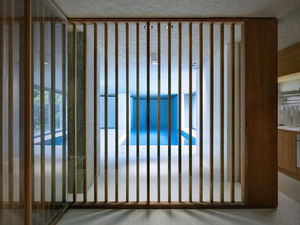 Hidden Swimming Pool Pavilion by Act Romegialli – La Piscina del Roccolo 10