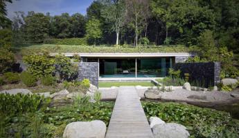 Hidden Swimming Pool Pavilion by Act Romegialli - La Piscina del Roccolo 14