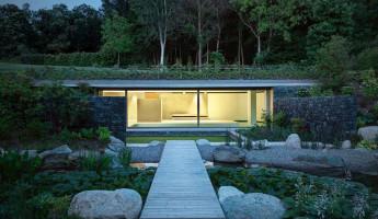 Hidden Swimming Pool Pavilion by Act Romegialli - La Piscina del Roccolo 17
