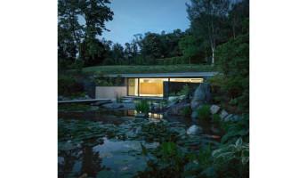 Hidden Swimming Pool Pavilion by Act Romegialli - La Piscina del Roccolo 18