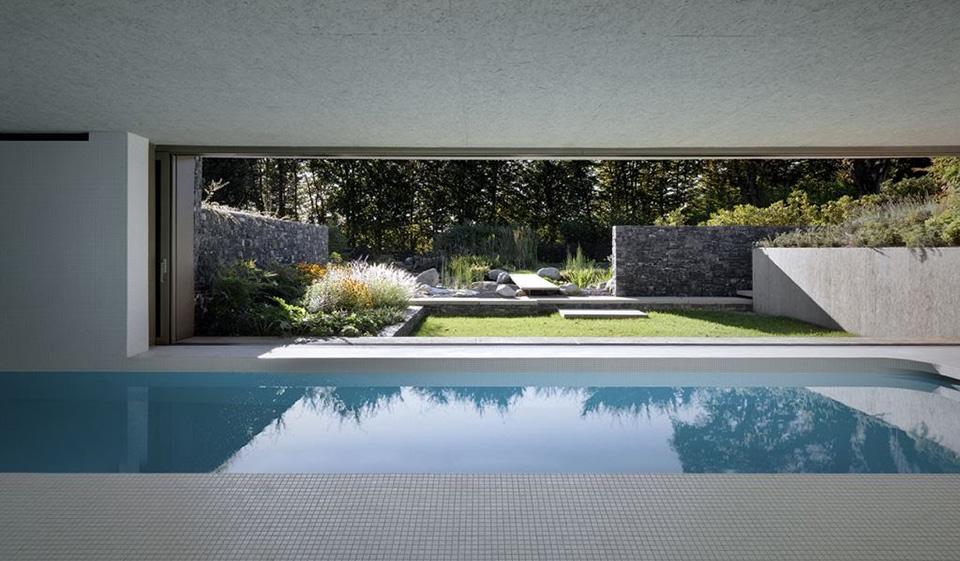 Hidden Swimming Pool Pavilion by Act Romegialli – La Piscina del Roccolo 2