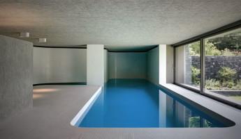 Hidden Swimming Pool Pavilion by Act Romegialli - La Piscina del Roccolo 6