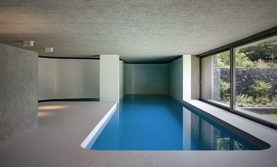 Hidden Swimming Pool Pavilion by Act Romegialli – La Piscina del Roccolo 6