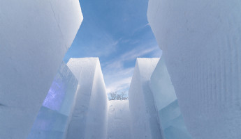 Ice Architecture - Snowmaze Sweden by PINPIN 1