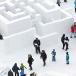 Ice Architecture - Snowmaze Sweden by PINPIN 3