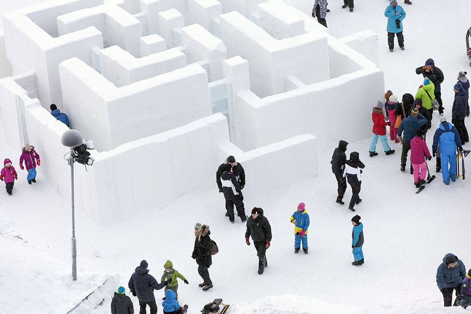 Ice Architecture – Snowmaze Sweden by PINPIN 3