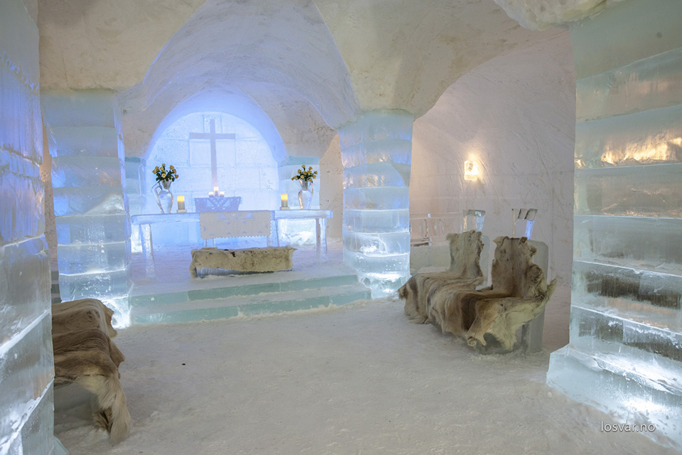 Ice Hotel - Sorrisniva Igloo Hotel Finland 1