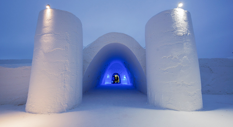 Ice hotel - Snowcastle of Kemi Finland 1
