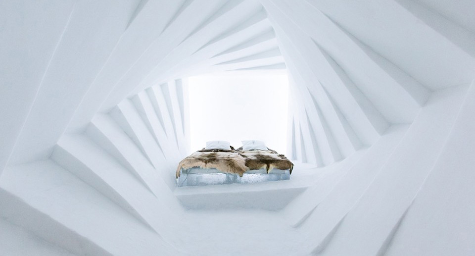 Icehotel Ice Hotel Rooms 2015 hero 8 Unreal Ice Hotels, Igloos and Frozen Architecture Masterworks