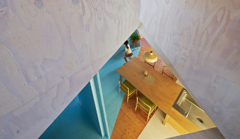 Kochi Architects Studio - Apartment House Tokyo - Photo by Daici Ano 2