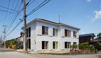 Kochi Architects Studio - Apartment House Tokyo - Photo by Daici Ano 5