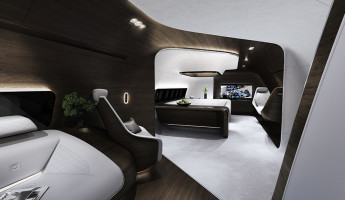Mercedes Benz Designs Luxury Aircraft Interior for Lufthansa (1)