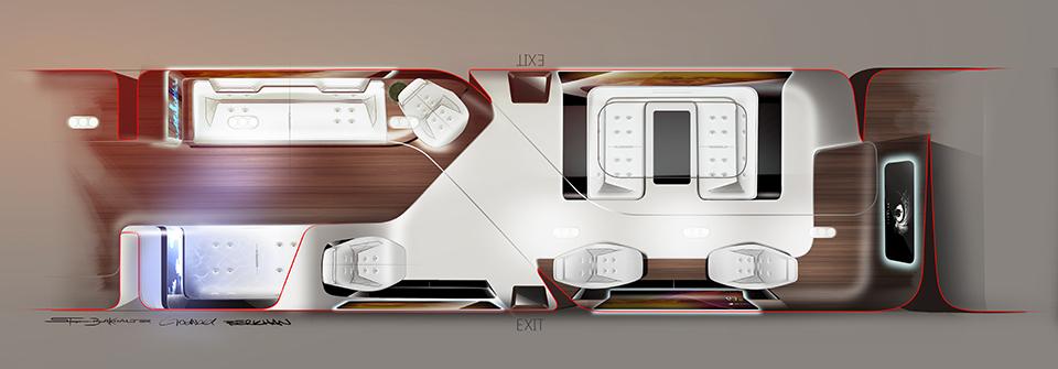 Mercedes Benz Designs Luxury Aircraft Interior for Lufthansa (2)
