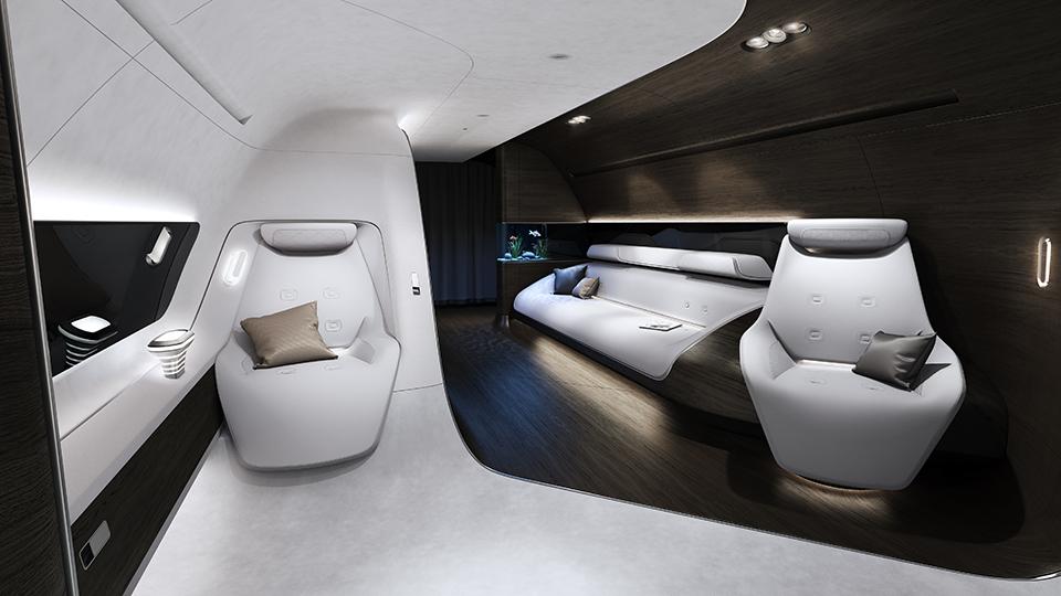 Mercedes Benz Designs Luxury Aircraft Interior for Lufthansa (3)