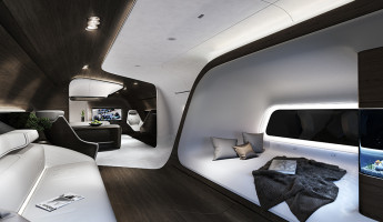 Mercedes Benz Designs Luxury Aircraft Interior for Lufthansa (4)