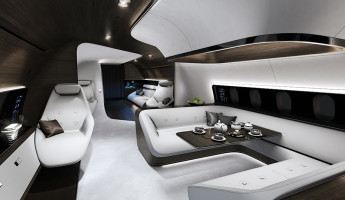 Mercedes Benz Designs Luxury Aircraft Interior for Lufthansa (5)
