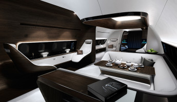 Mercedes Benz Designs Luxury Aircraft Interior for Lufthansa (6)