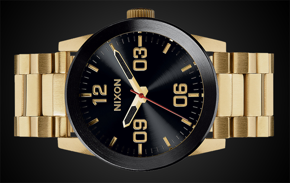 Modern Watches Under $500:Nixon-Private-SS-Watch-1