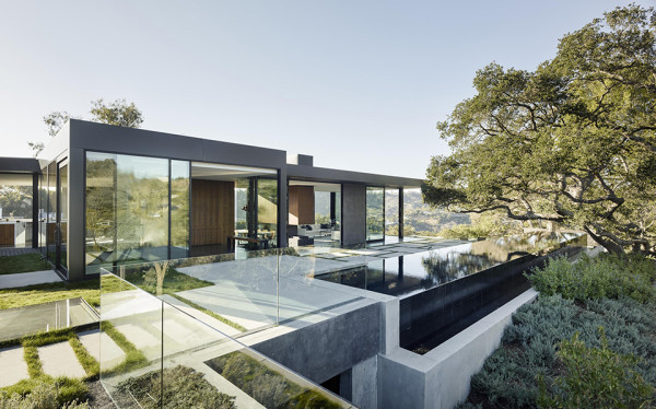 Oak Pass House by Walker Workshop 7 600x374 Architect Noah Walker: From Humble Origins to the Grand Design of the Oak Pass House