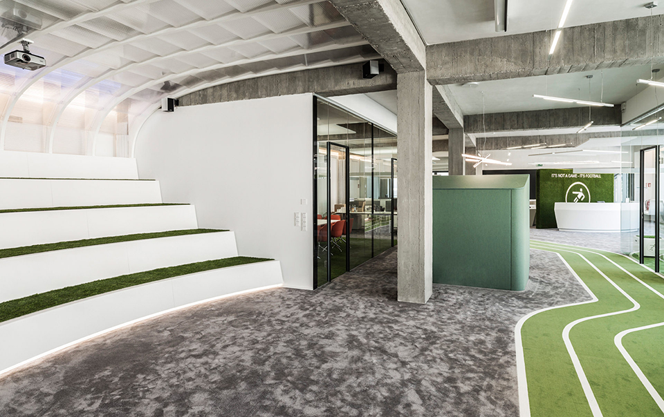 Onefootball Office Design by TKEZ Architecture 2