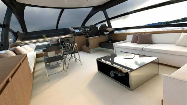 Riva 76 Yacht 8 600x338 This Incredible Italian Cruise Yacht is Like a Seafaring Ferrari: Meet the Riva 76 Yacht