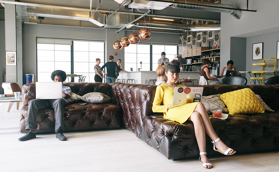 WeWork Coworking Office Design 1