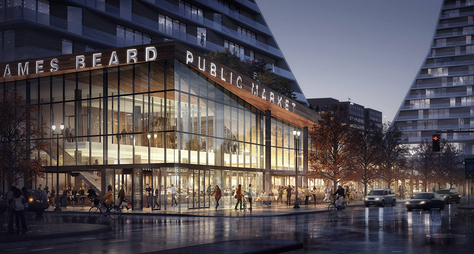 James Beard Public Market in Portland by Snohetta 1