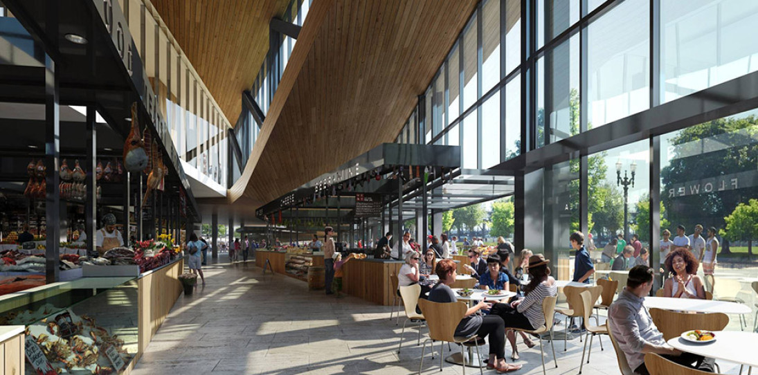 James Beard Public Market in Portland by Snohetta 3