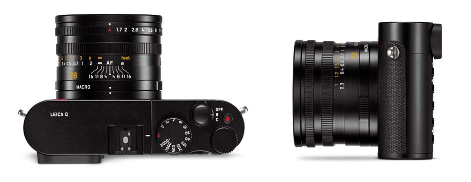 Leica Q full frame compact camera 3