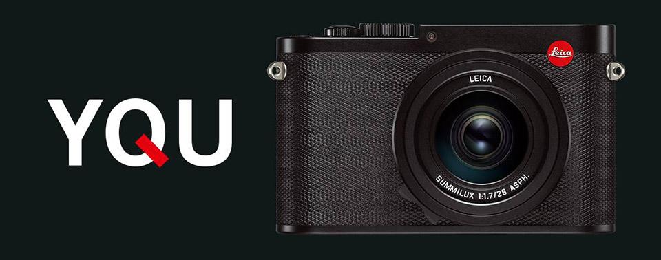 Leica Q full frame compact camera hero