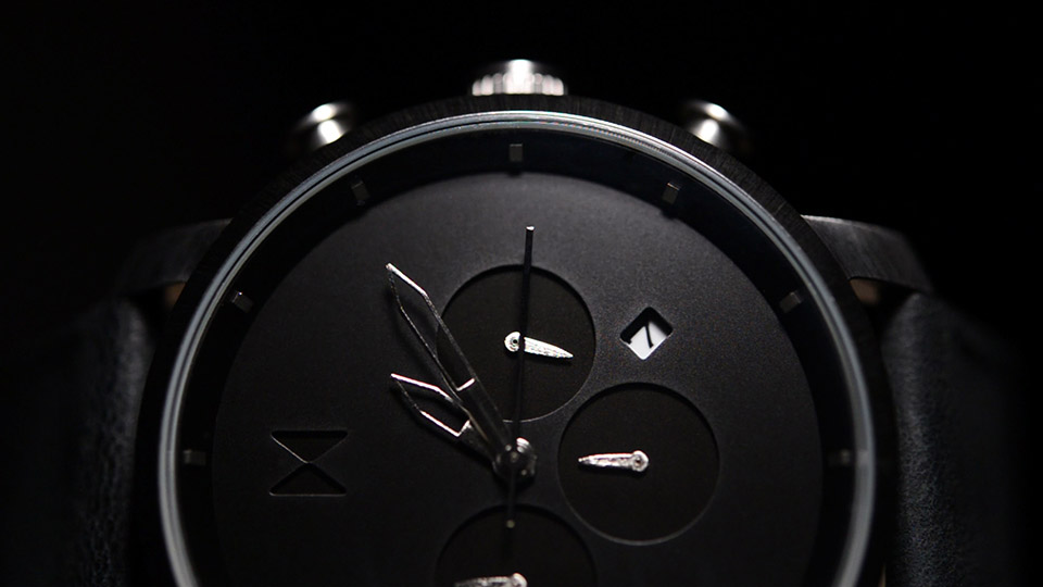MVMT Chrono Watch Black and Silver 10