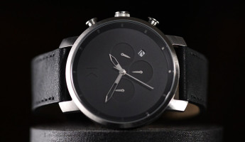 MVMT Chrono Watch Black and Silver 11