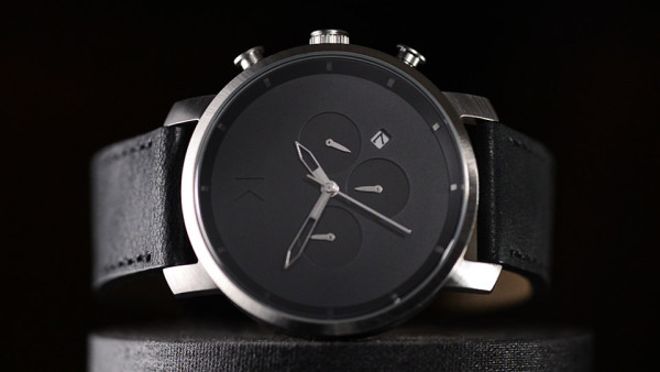 MVMT Chrono Watch Black and Silver 11 600x338 MVMT Chrono Watch: A Cinematic Look at the Darling of Crowd Funded Fashion