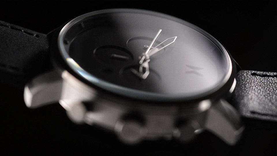MVMT Chrono Watch Black and Silver 4