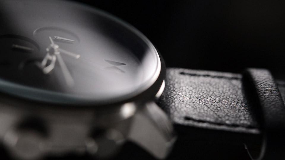 MVMT Chrono Watch Black and Silver 6
