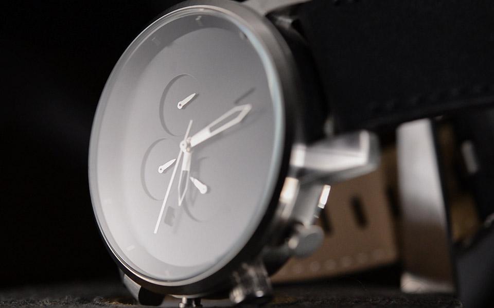 MVMT Chrono Watch Black and Silver 8